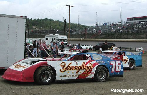 photo of #76 racecars